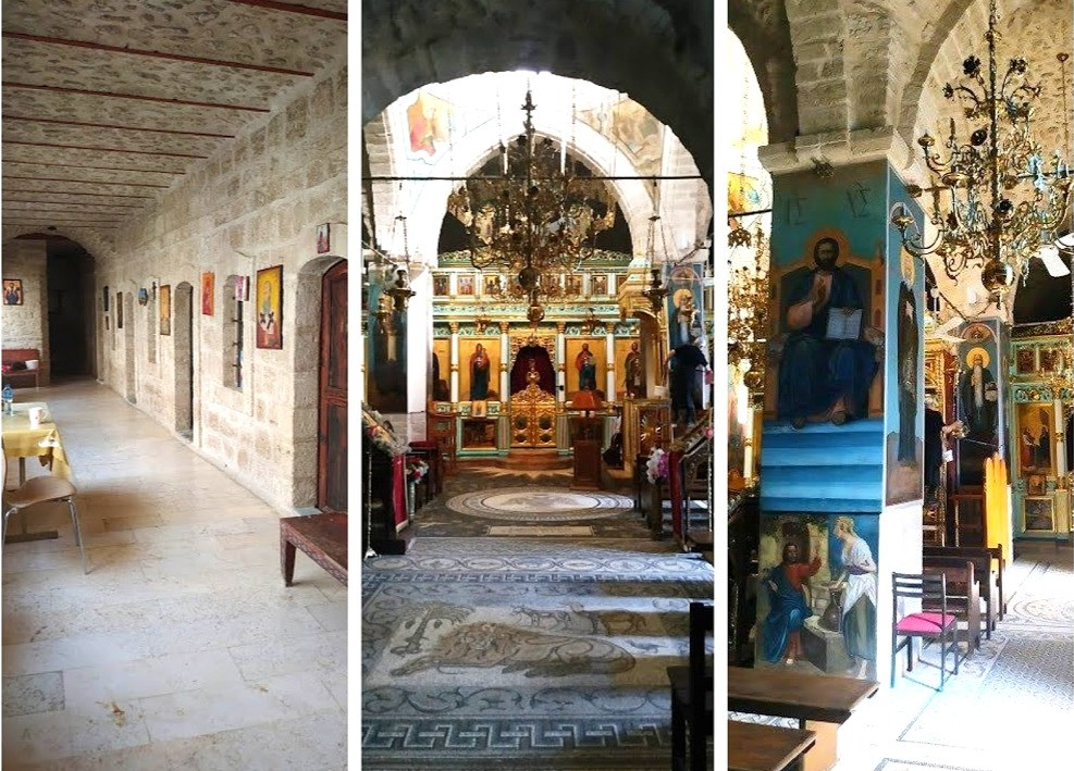 כנסיית דיר חג'לה, כנסייה יוונית אורתודוקסית