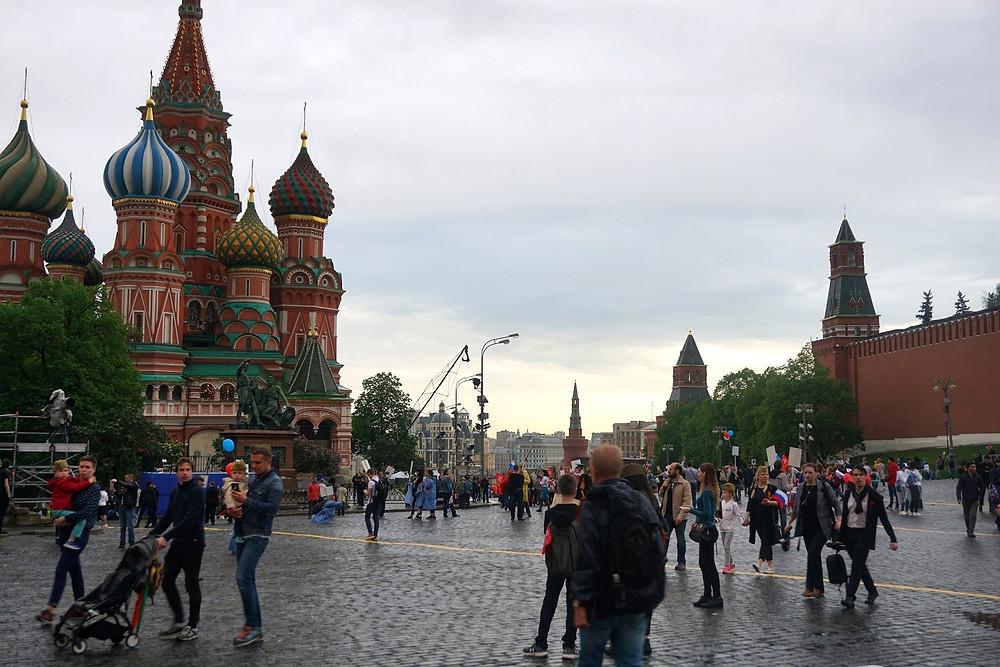 הכיכר האדומה מוסקבה