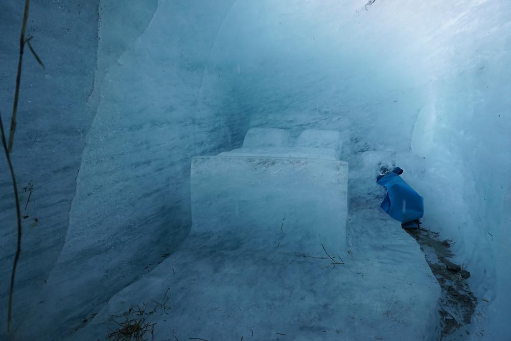 מר דה גלאס, מערת הקרח שאמוני