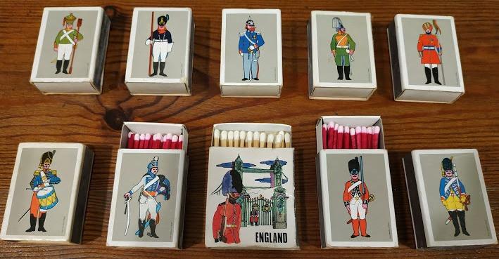 אוסף קופסאות גפרורים, בלוג כבר אורזת, אנגליה