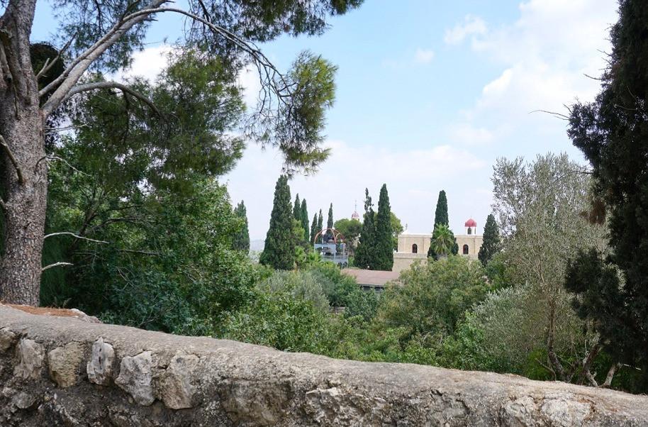 הכנסייה היוונית אורתודוקסית בהר תבור