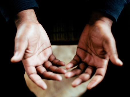 "Mar 31 - ""Open Hands of Forgiveness"""