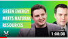 Interview: Revenge of the Miners:  Green Energy Meets Natural Resources -  live with Warren Irwin
