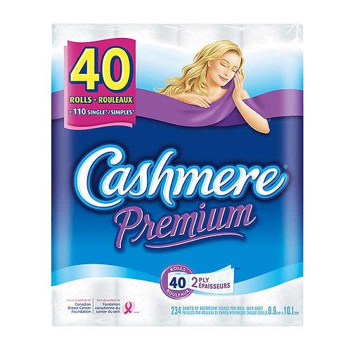 Cashmere Premium 2-ply Bathroom Tissue, 40-pack