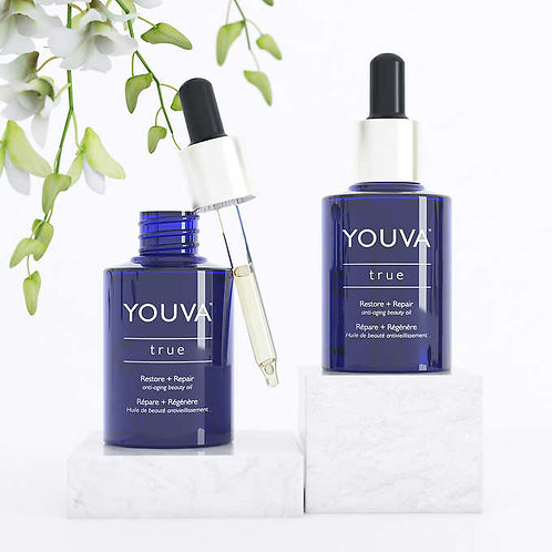 Youva True Anti-Aging Beauty Oil Duo