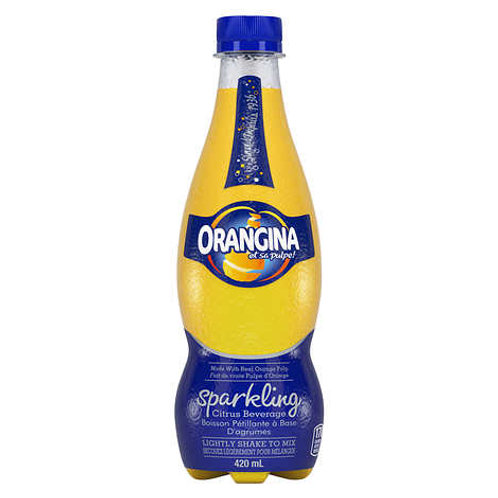 Orangina Sparkling Citrus Beverage 12 x 420 mL