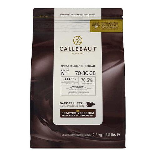 Callebaut Dark Belgian Chocolate Callets 2.5 kg