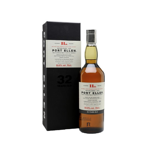 Port Ellen 32 Years Old 1983 15th Release 53.9% with box