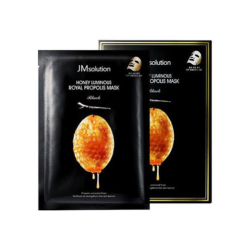 JM Solution Honey Luminous Royal Propolis Mask 10s