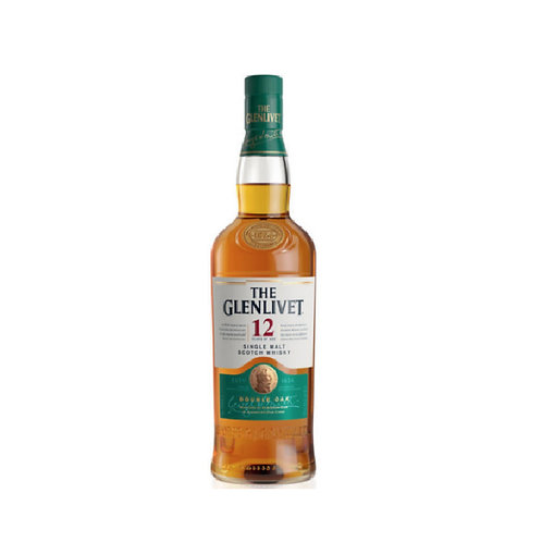 GLENLIVET 12 Years Old 70cl (With Box)