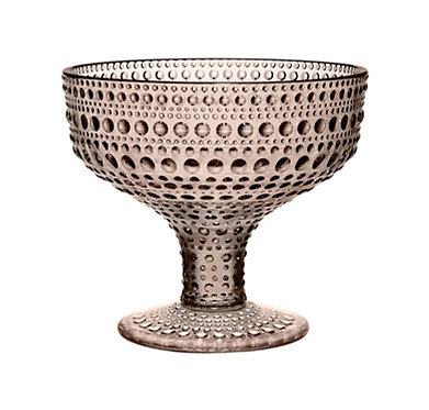 Kastehelmi Чаша на ножке 350 мл. песочная