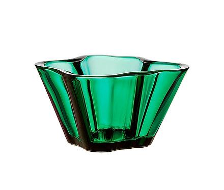 Новая ваза Aalto размером 75 мм. Изумрудная