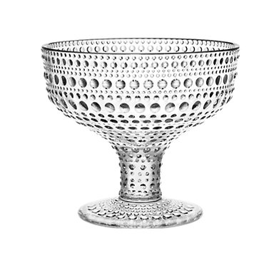 Kastehelmi Чаша на ножке 350 мл. прозрачная