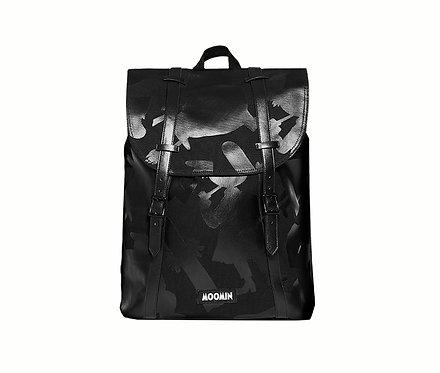 Стильный Муми рюкзак с Муми-Троллями (black shadows)