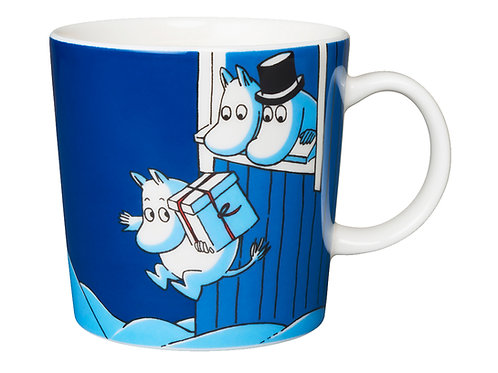 "Moomin кружка ""Рождественский сюрприз"" 0,3 л. 2009"