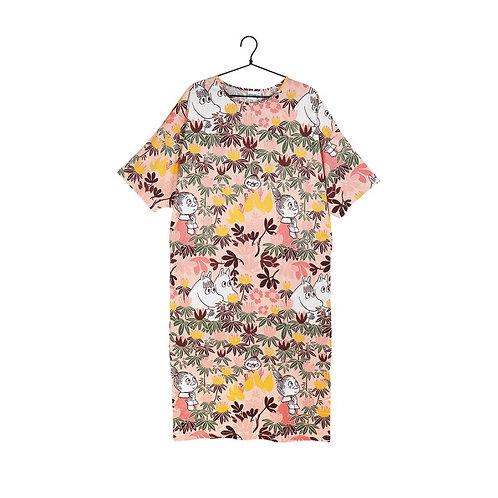 Moomin платьеFoliage с коротким рукавом роза