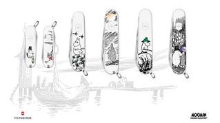 Новые карманные швейцарские ножи Moomin от Victorinox!