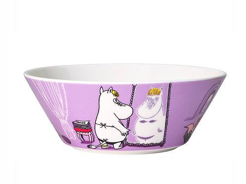 Moomin чаша Фрекен Снорк, 15 см. фиолетовая