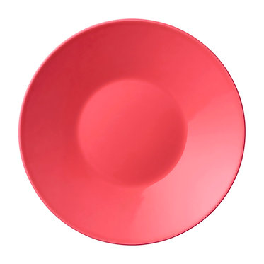 Тарелка KoKo 23 см. Цвет: Коралловый