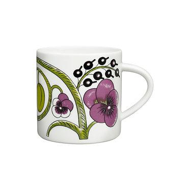 Кружка Paratiisi (Рай) 0,35 л. фиолетовая фиалка