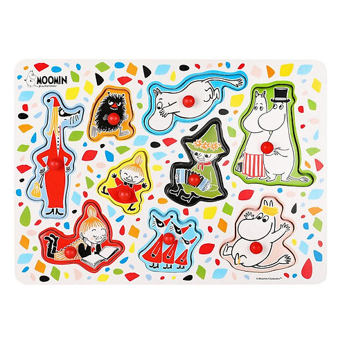 Moomin Персонажи Peg Puzzle