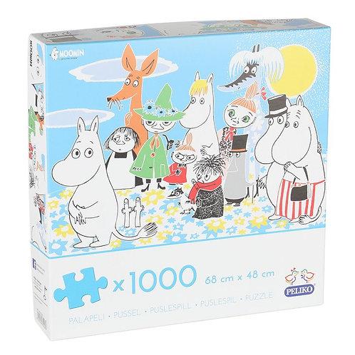 Moomin Пазл 1000 деталей