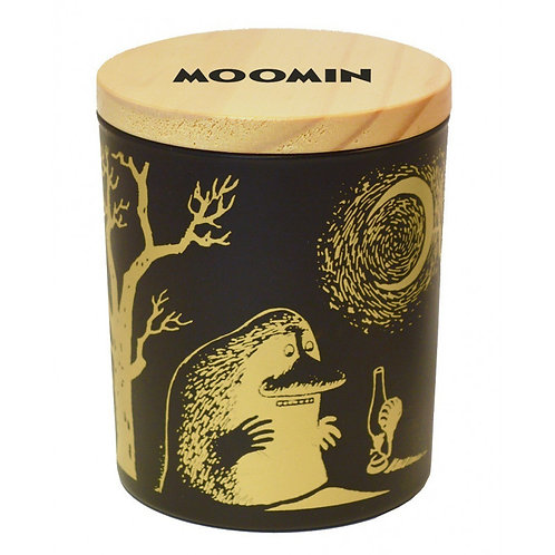 Подсвечник и Ароматическая Moomin свеча в керамической банке Морра