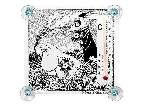 Термометр Moomin Фрекен Снорк и Филифьонка.