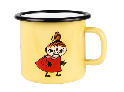 Муми-кружка Малышка Мю, Ретро, желтая