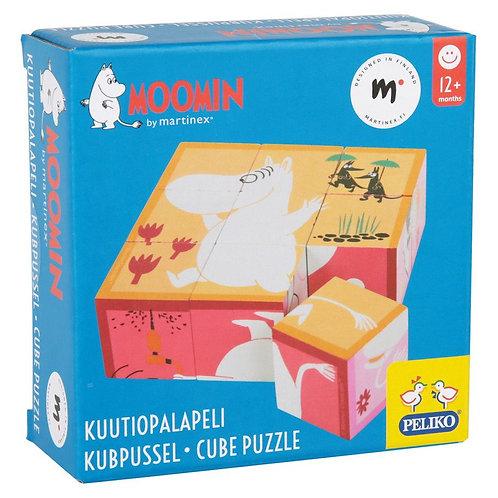 Moomin Кубик-пазл 9 частей
