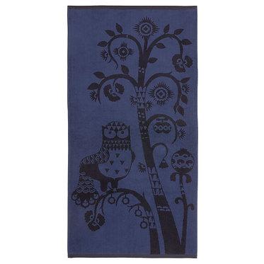 Банное полотенце Тайка синее 70 х 140 см