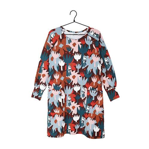 Moomin Платье Anna Tulip коричневое
