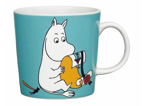Коллекционная Moomin Кружка Муми-тролль 0,3 л. бирюзовая