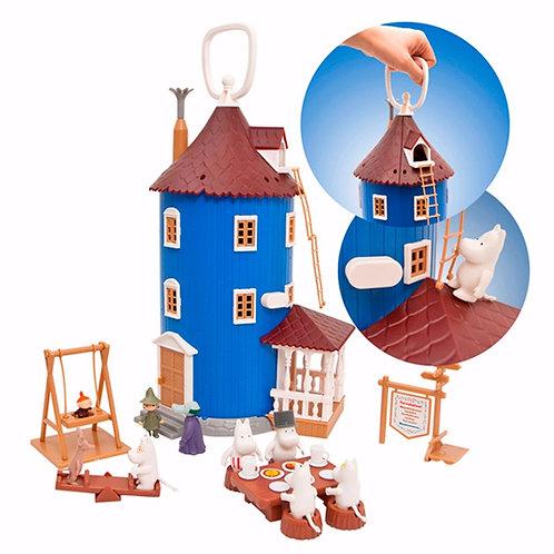 Большой игрушечный домик Муми-Троллей с персонажами и мебелью