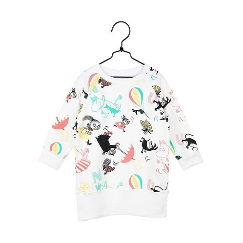 MoominСпортивная туника с бабочками