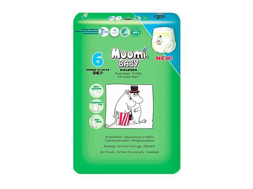 Muumi 6, Муми-Подгузники  Трусики Junior, 12-20 кг., 36 шт.