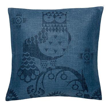 Подушка 50х50 см синяя