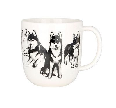 Кружка Друзья Собаки, Хаски