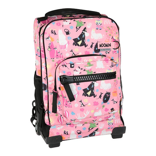 Moomin чемодан розовый