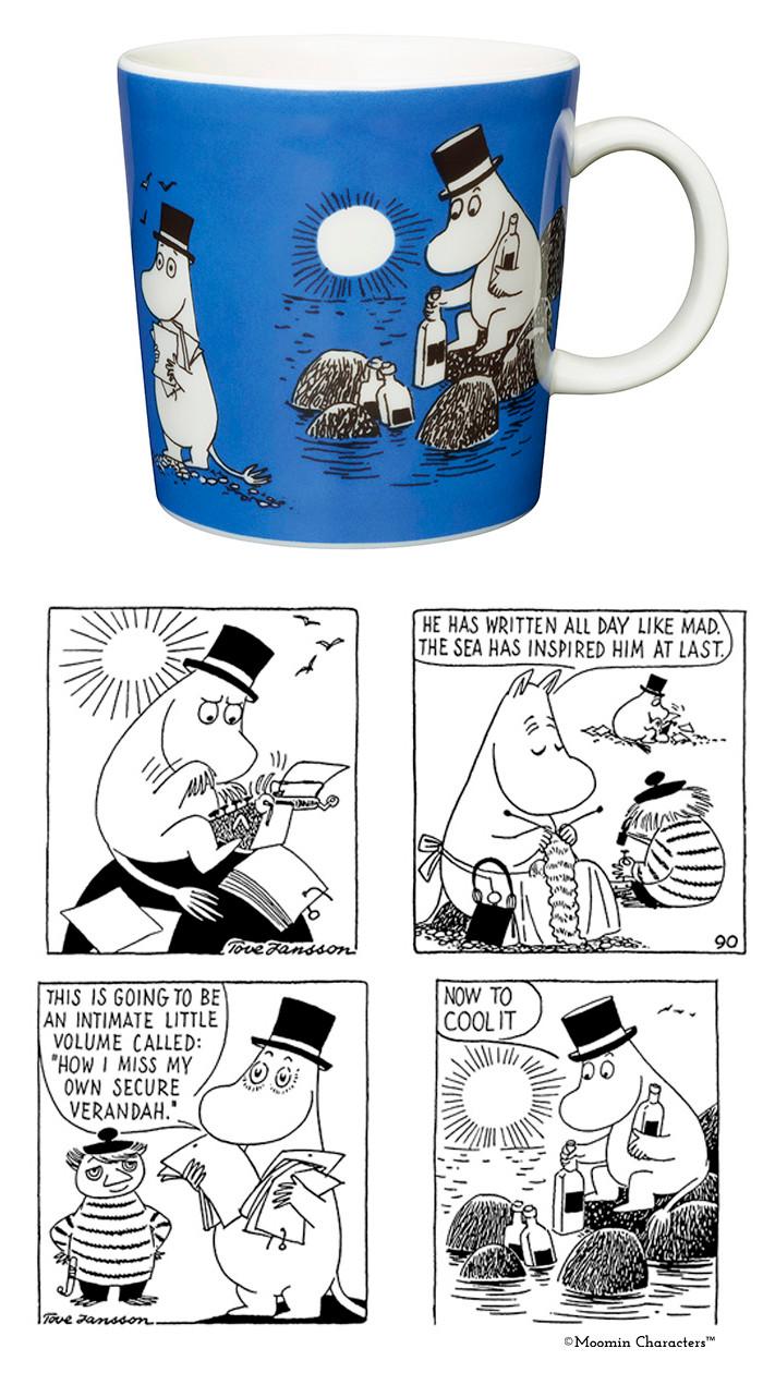 чашки с муми-троллями