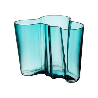 Ваза Коллекция Alvar Aalto160мм, морской синий