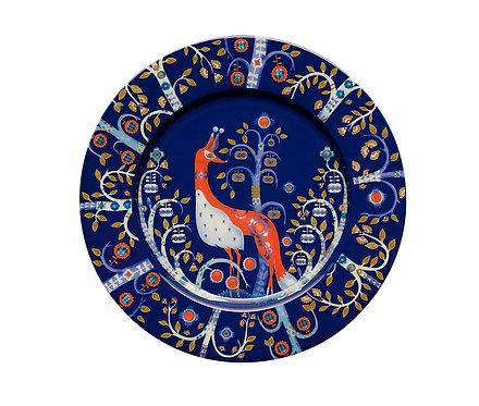 Тарелка 22см. Синяя