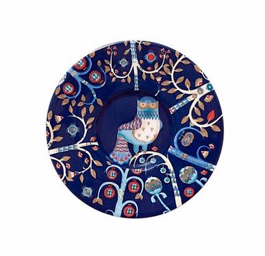 Taika Блюдце под чашку для кофе эспрессо 11 см. синее