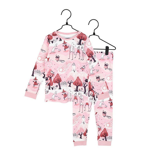 Moomin Пижама Comet розовая