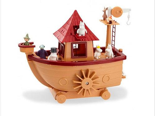 Большой игрушечный Moomin-Корабль с персонажами и мебелью