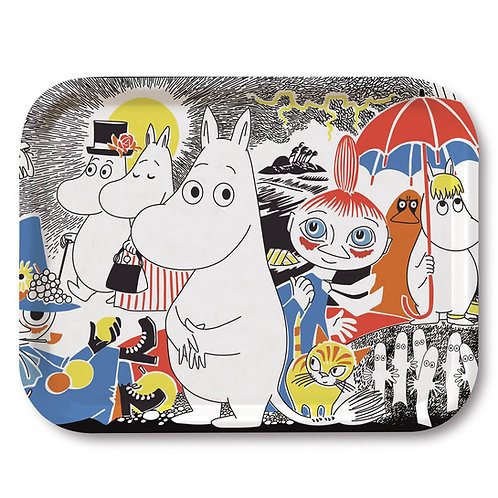 Moomin подносОбложка комиксы Муми-троллей № 1,27x20 cм