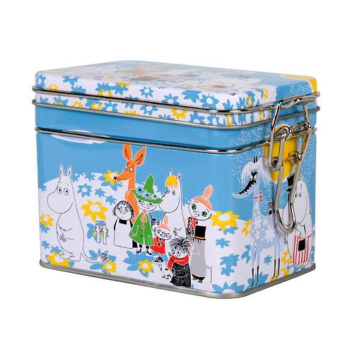 Moomin контейнер для храненияЛетний день,с геметичной крышкой