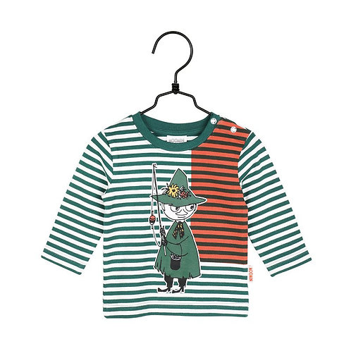 Moomin Рубашка зеленая