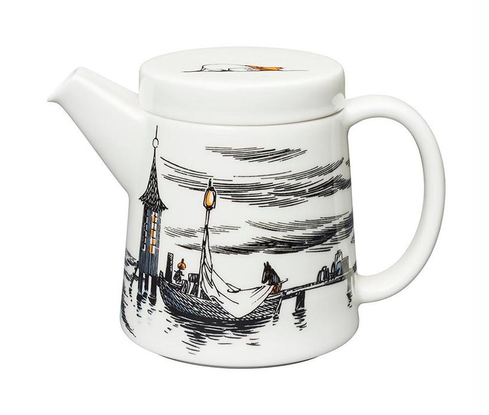 чайник с Муми-Троллями