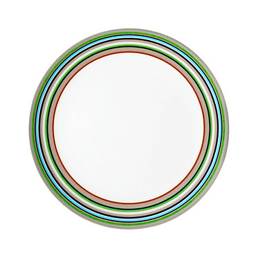 Бежевая тарелка Origo, 20 см.